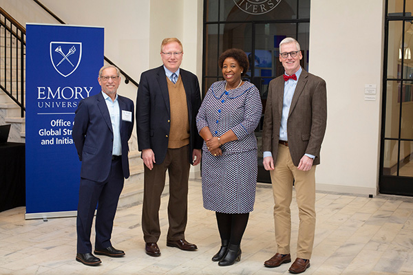 Recipients of Emory's 2019-2020 International Awards